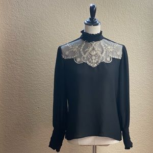 Vintage Victorian Edwardian style blouse